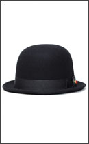 SEVENTY FOUR - DERBY HAT STUD -Black-