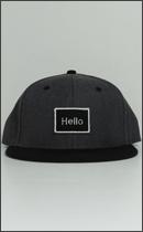 RAH - Hello RAH B.B. CAP -Charcoal / Black-