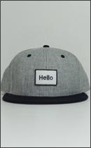 RAH - Hello RAH B.B. CAP -H.Grey / Black-