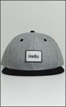 RAH - Hello RAH B.B. CAP -H.Grey / Navy -