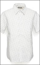 RULER - HERBS OXFORD SS SHIRTS -White-