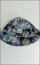 INTERFACE - FLOWER BUCKET HAT -Blue/Black-