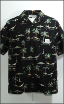 INTERFACE - PALM TREE RESORT S/S SHIRTS -Black-