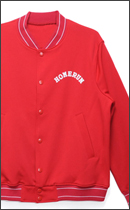 HOMERUN - HORDEN x HOMERUN VARSITY JACKET -Red-