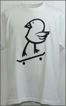 MAD.TK. - KILLY BIRD BLIND Tshirt -White-