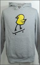 MAD.TK. - KILLY BIRD FILL-IN HOODED -Mix Grey-