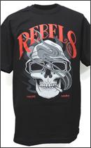 REBEL8 - SMOKED LOC TEE -Black-