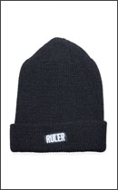 RULER - BLACK BOX WATCH CAP -Black-