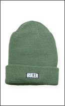 RULER - BLACK BOX WATCH CAP -Olive-