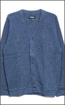 BRIXTON - MILES CARDIGAN -Washed Blue-