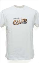 CALEE - MOON GIRL T-SHIRT -White-