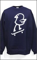 MAD.TK. - killy bird crew neck sweat -Navy-