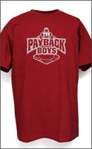 Other Brand - PAYBACK BOYS classic T-SHIRTS -Cardinal Red-