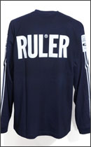 RULER - MARKER LINE LONG TEE -Navy-