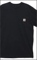 Other Brand - SHORT-SLEEVE WORKWEAR POCKET-Black-