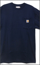 Other Brand - SHORT-SLEEVE WORKWEAR POCKET-Navy-