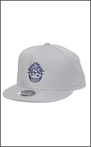 PRILLMAL - DOOBIT HEAD 3rd !!! SNAP BACK CAP -Grey-