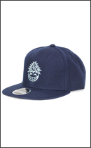 PRILLMAL - DOOBIT HEAD 3rd !!! SNAP BACK CAP -Navy-