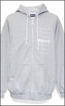 PRILLMAL - ALL I NEED !! ZIP HOOD -H.Grey-