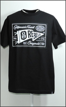 REBEL8 - MADE AND PAID TEE -Black-
