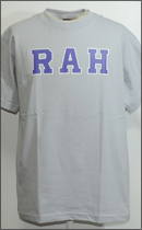 RAH - LOGO TEE S/S -Silver/Purple/White-