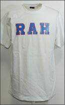 RAH - LOGO TEE S/S -White/Blue/Red-