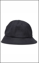 RAH - HEAVY CANVAS SOLID HAT -Black-