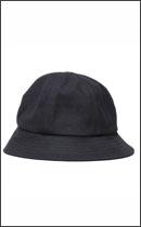 RAH - HEAVY CANVAS SOLID HAT -Black/Black-