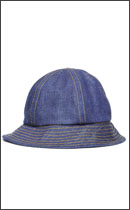 RAH - SELVEDGE DENIM SOLID HAT -Rigid Indigo-