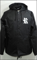 RAH - AUTHENTIC HOODED COACH -Black-