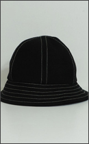 RAH - HEAVY CANVAS SOLID HAT -Black/White-