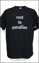 HOMERUN - rest in paradise -Black-