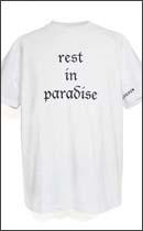 HOMERUN - rest in paradise -White-