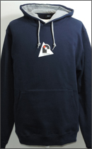 RAH - r.LEAGUE TWO‐TONE PULL OVER PARKA -Navy/Grey-