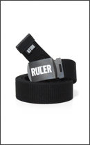 RULER - ICON WEB BELT -Black-