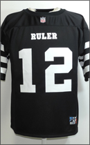 RULER - FOOTBALL JERSEY -Black-