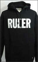 RULER - ICON SWEAT HOODIE -Black-