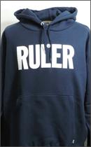 RULER - ICON SWEAT HOODIE -Navy-