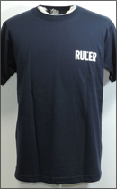 RULER - ICON TEE -Navy-