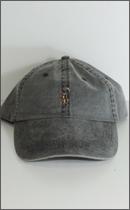 RULER - DD WASHED LOW-PROFILE TWILL CAP -Black-