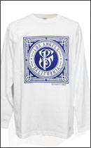 SEVENTY FOUR - SF LOGO LONG SLEEVE T-SHIRTS -White-