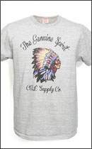 CALEE - MELANGE INDIAN T-SHIRTS -Grey-