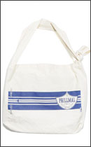 PRILLMAL - DABS MUSETTE as SACOCHE -Natural/Navy-