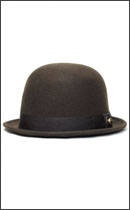 SEVENTY FOUR - DERBY HAT STUD -Brown-