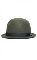 SEVENTY FOUR - DERBY HAT STUD -Olive-