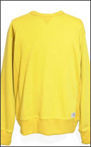 SEVENTY FOUR - SIDE RIB CREW NECK KNIT -Musterd-