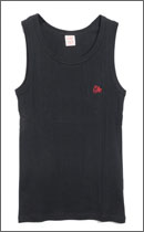 CALEE - TANK TOP -Black-