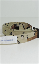 tokyo gimmicks - ONE AND ONLY SERIES BELT -Dessert Camo Chocolate Chip-
