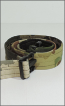 tokyo gimmicks - ONE AND ONLY SERIES PATCH WORK BELT -Camo-