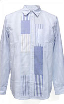 tokyo gimmicks - ONE AND ONLY SERIES PW SHIRTS - Blue , Size:M -